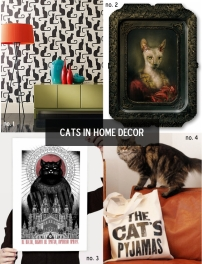 cat home decor